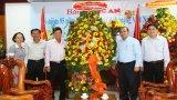 Nhiều địa phương, cơ quan, đơn vị chúc mừng Báo Long An nhân Ngày Báo chí Cách mạng Việt Nam