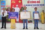 Cần Đước: Xã Long Định đạt chuẩn nông thôn mới