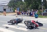 Bến Lức: Tai nạn giao thông, 1 người bị thương nặng
