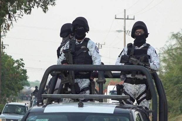 Lực lượng Vệ binh Quốc gia Mexico tuần tra. (Nguồn: Reuters)