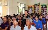 Đại biểu Quốc hội tiếp xúc cử tri xã Phước Lợi, huyện Bến Lức