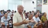Chủ tịch UBND tỉnh Long An đối thoại với 33 hộ dân khiếu nại đất đai kéo dài