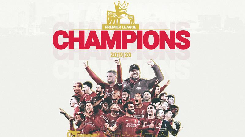 Liverpool chính thức lên ngôi vô địch