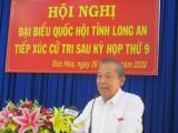 Phó Thủ tướng Thường trực Chính phủ - Trương Hòa Bình tiếp xúc cử tri huyện Đức Hòa