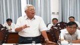 Nguyên lãnh đạo tỉnh Long An đóng góp dự thảo Báo cáo chính trị Đại hội đại biểu Đảng bộ tỉnh lần thứ XI