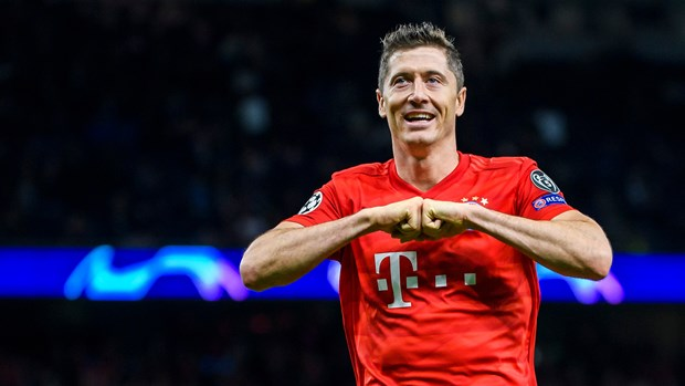 Lewandowski hay nhất Bundesliga mùa này. (Nguồn: FCBayern)
