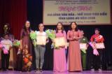 Hội thi Gia đình Văn hóa - Thể thao tiêu biểu Long An: Tân Trụ đoạt giải Nhất toàn đoàn