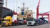 Công ty Cổ phần Thép TVP xuất khẩu gần 50.000 tấn hàng từ Cảng Quốc tế Long An