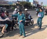 Lực lượng dân quân thị trấn Bến Lức: Tích cực tham gia giữ gìn an ninh, trật tự