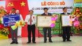 Long Cang đón nhận quyết định công nhận xã nông thôn mới