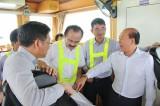 Bộ Giao thông Vận tải thị sát tại Cảng Quốc tế Long An