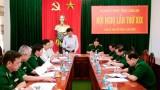 Xây dựng Đảng bộ Bộ đội Biên phòng tỉnh ngày càng trong sạch, vững mạnh