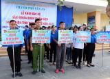 TP.Tân An khai mạc hè và ra quân Chiến dịch Thanh niên tình nguyện 2020