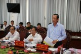 Thông qua văn kiện Đại hội đại biểu Đảng bộ huyện Mộc Hóa