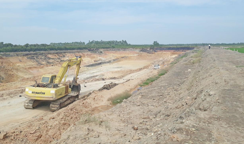 Tập trung đóng cửa mỏ các hầm đất đã khai thác xong