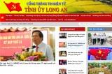 Khai trương vận hành chính thức Cổng thông tin điện tử Tỉnh ủy Long An