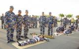 Huấn luyện 5 kỹ thuật cấp cứu ở Lữ đoàn 167 Hải quân