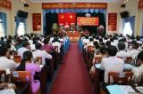 Vĩnh Hưng khai mạc Đại hội đại biểu Đảng bộ huyện lần thứ XI, nhiệm kỳ 2020 - 2025