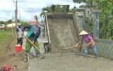 Tân Trụ: Dân vận khéo trong xây dựng nông thôn mới