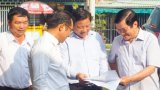 Nguyên Chủ tịch nước - Trương Tấn Sang khảo sát xây dựng trường học tại Bến Lức