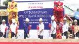 Khởi công xây dựng nút giao thông Đường tỉnh 824 và Đường tỉnh 823B