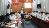 Đóng góp bản thảo lịch sử ngành tổ chức xây dựng Đảng tỉnh Long An