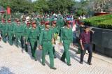 Giai đoạn XIX, Đội K73 tìm kiếm, cất bốc được 110 bộ hài cốt liệt sĩ ở Campuchia về nước