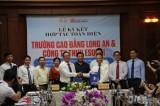 Trường Cao đẳng Long An và Công ty TNHH ESUHAI ký kết hợp tác toàn diện