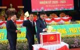 39 đồng chí được bầu vào Ban Chấp hành Đảng bộ huyện Mộc Hóa nhiệm kỳ 2020-2025