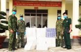 Đồn Biên phòng Thuận Bình thu giữ 4.500 gói thuốc lá ngoại nhập lậu