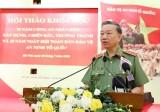 """Bộ trưởng Tô Lâm: Lực lượng công an là """"thanh bảo kiếm"""" của Đảng"""