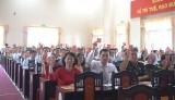 41 đồng chí được bầu vào Ban Chấp hành Đảng bộ TP.Tân An, nhiệm kỳ 2020-2025