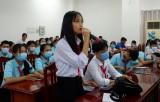 Lãnh đạo sở, ngành tỉnh Long An gặp gỡ, giao lưu với thiếu nhi năm 2020