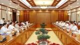 Bộ chính trị làm việc về chuẩn bị Đại hội các đảng bộ trực thuộc TƯ