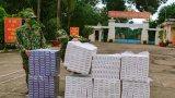 Bộ đội Biên phòng Long An thu giữ gần 5.000 gói thuốc lá nhập lậu