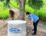 Nông dân Đức Hòa chung tay bảo vệ môi trường