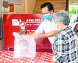 Tập đoàn Nam Long tặng ATM gạo tại Long An