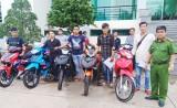 Đức Huệ: Ngăn chặn việc đưa xe môtô trộm cắp được qua Campuchia tiêu thụ