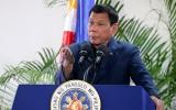Tổng thống Philippines cấm hải quân nước này tập trận ở Biển Đông