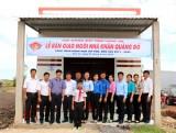 Hội đồng Đội tỉnh trao Ngôi nhà Khăn quàng đỏ tại huyện Vĩnh Hưng