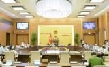 Bế mạc phiên họp thứ 47 của Ủy ban Thường vụ Quốc hội