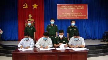 Bộ đội biên phòng tỉnh Long An: Tích cực tuyên truyền phòng, chống dịch Covid-19 trong tình hình mới