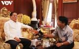 """Ông Choummaly Sayasone: """"Đồng chí Lê Khả Phiêu am tường về cách mạng Lào"""""""
