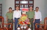 Bí thư Tỉnh ủy Long An chúc mừng Ngày truyền thống Công an Nhân dân