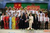 Tân Hưng: Ông Lê Văn Hùng tái đắc cử Bí thư Huyện ủy lần thứ VI, nhiệm kỳ 2020-2025