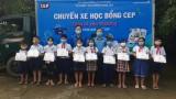 64 học sinh nghèo nhận học bổng từ CEP