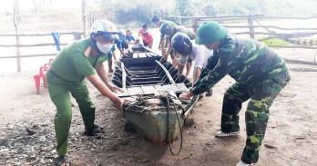 Tân Hưng: Phát hiện trường hợp rước người trái phép qua biên giới