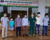 6 bệnh nhân mắc Covid-19 được công bố khỏi bệnh