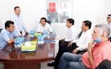 Bí thư Tỉnh ủy – Phạm Văn Rạnh làm việc với lãnh đạo Công ty Cổ phần IMG Phước Đông