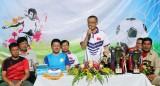 Khai mạc giải bóng đá chào mừng Quốc khánh Việt Nam tại Campuchia